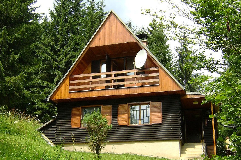 Chata 526 - přední pohled / Cottage 526 - front view