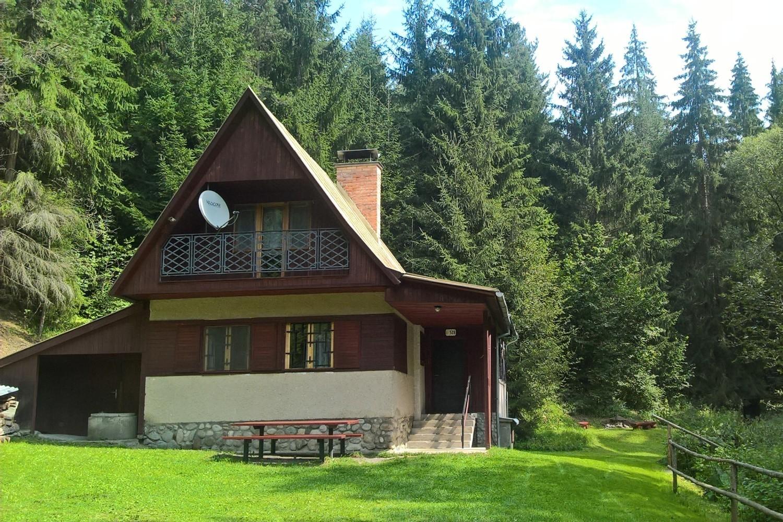 Chata 528 - přední pohled / Cottage 528 - front view