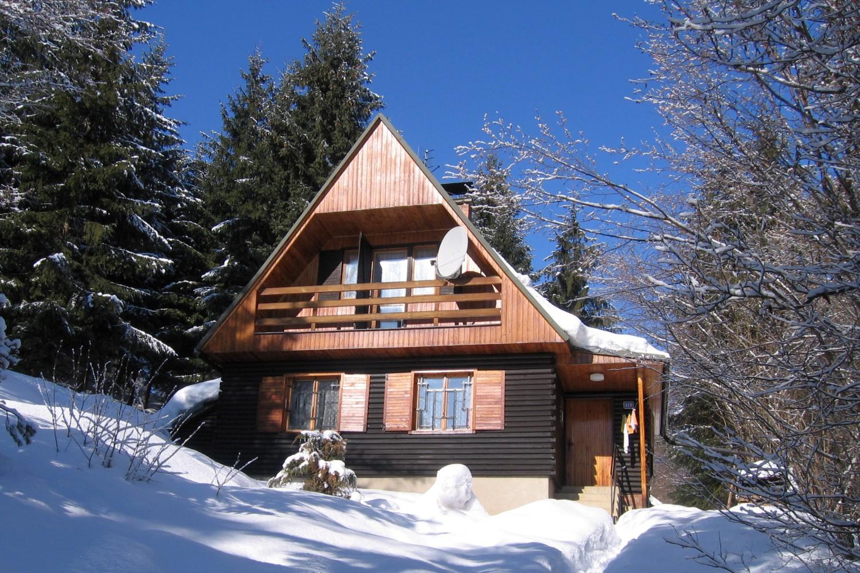 Chata 526 - zimní pohled / Cottage 526 - winter view