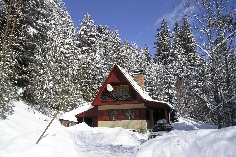 Chata 528 - zimní pohled / Cottage 528 - winter view