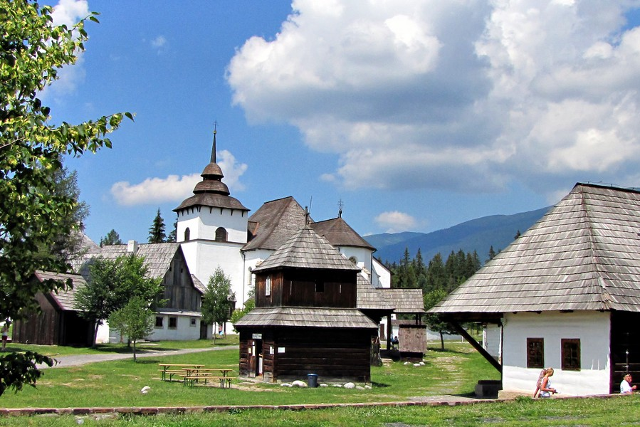 Pribylina - skanzen liptovskej dediny / open-air museum (12 km)