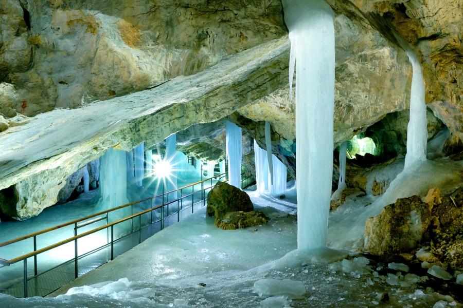 Demänovská - ľadová jaskyňa / ice cave (24 km)