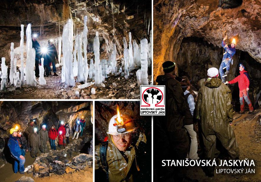 Stanišovská jaskyňa - prohlídky s čelovkou / cave (10 km)