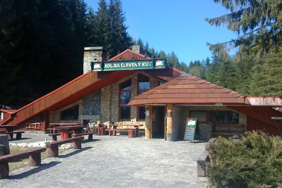 Restaurace Koliba - stravování v prostředí tradiční slovenské koliby / restaurant Koliba (300 m)