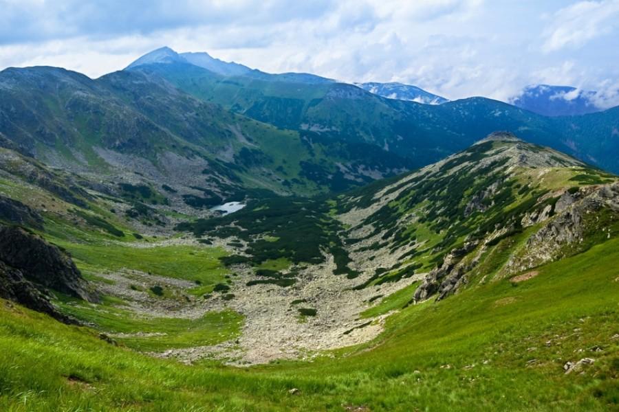 Nízké Tatry, nejvyšší hora Ďumbier 2043 m / Low Tatras (0-65 km)
