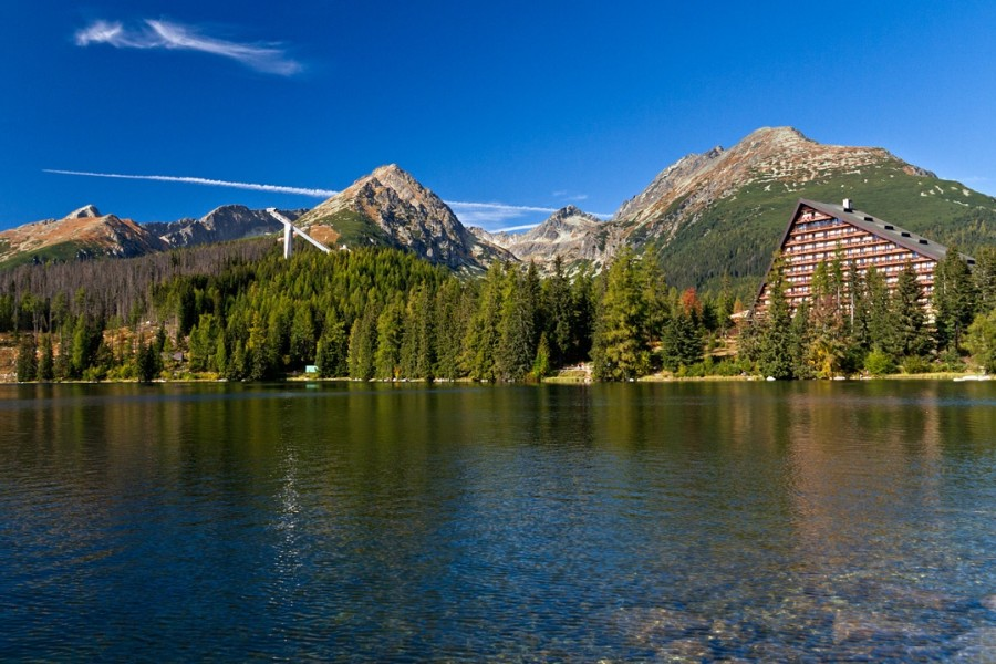 Vysoké Tatry - s nejvyšší horou Gerlach 2655 m / High Tatras (22-75 km)