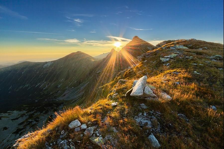 Západné Tatry - nejvyšší hora Bystrá 2248 m / West Tatras (20-65 km)