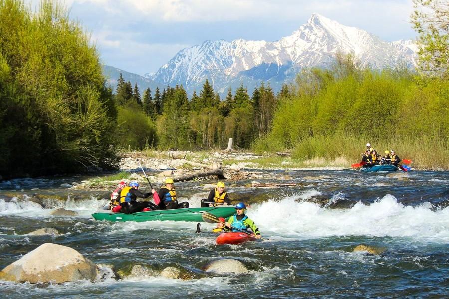 Belá - splavování na divoké řece / wild river rafting (8 km)