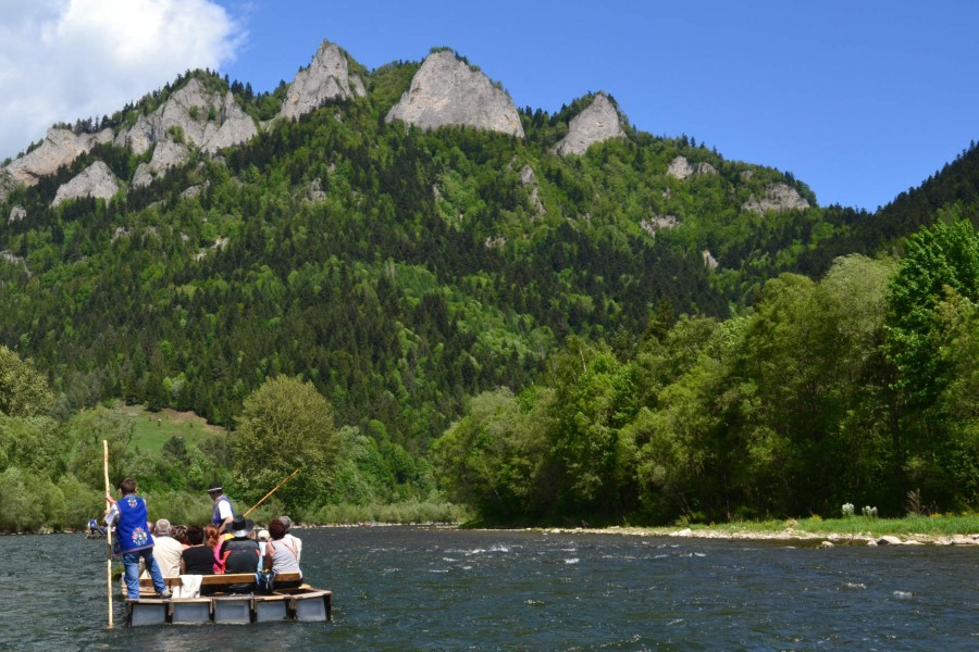 Dunajec Pieniny - splavování na vorech / floating on rafts (80 km)