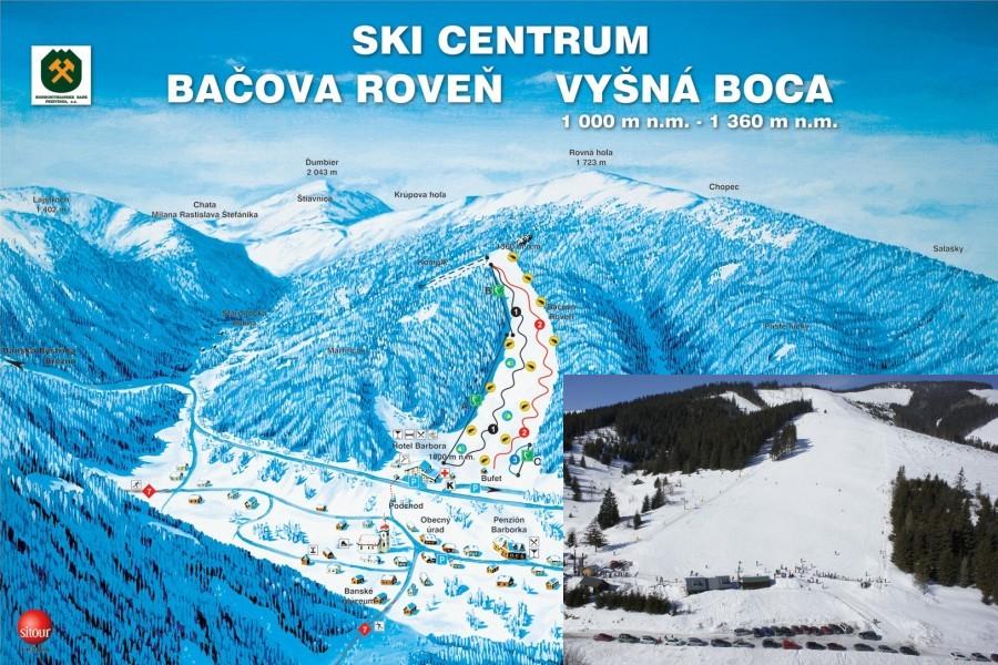 Středisko Vyšná Boca / Ski resort Vyšná Boca (12 km)